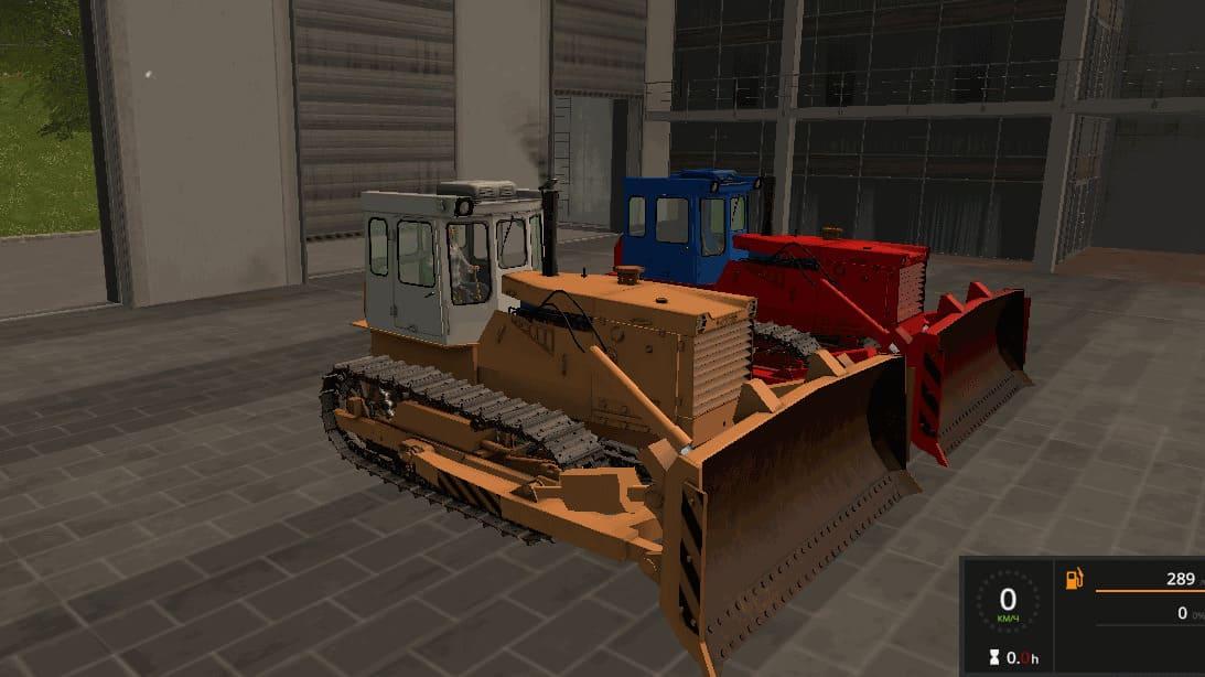 Мод трактор Бульдозер ЧТЗ Т-170 v 1.1 Фермер Симулятор 2017