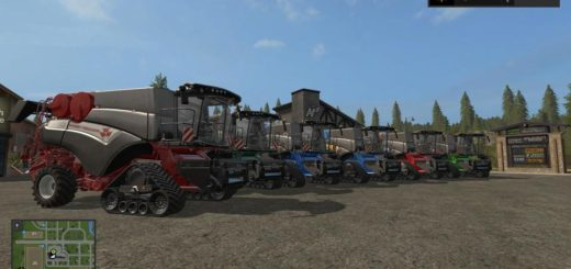 Мод комбайн BD HARVESTER V1.0.0.0 Farming Simulator 2017