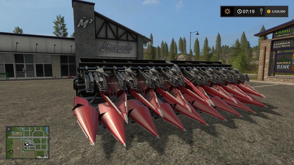 Мод жатка QUASAR HS 16 V1.0 Farming Simulator 17