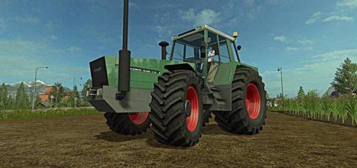 Мод трактор FENDT FAVORIT 620 - 626LS V1.0 FS17