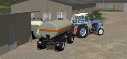 Мод прицеп FORTSCHRITT HW80 CHASSIS WITH WATER TANK V1.1 FS17