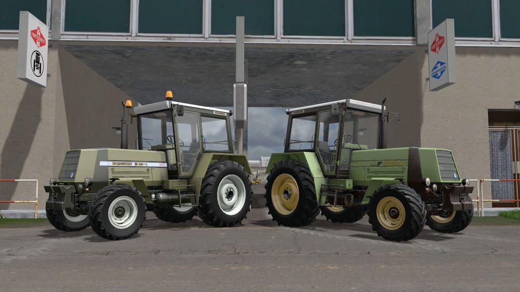 Мод трактор Fortschritt ZT 323-A v 1.0 Farming Simulator 2017