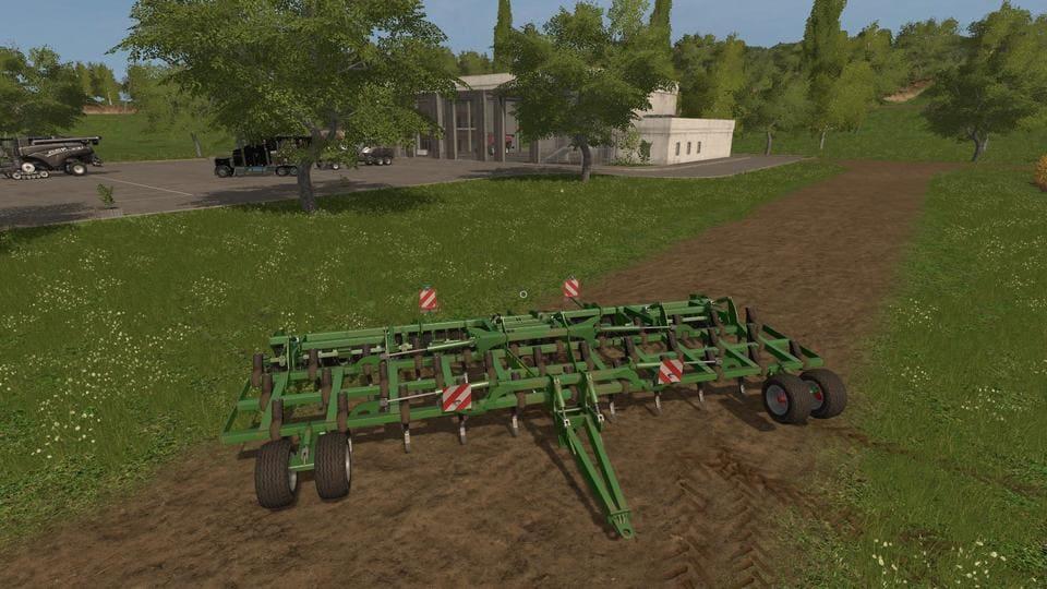 Мод культиватор JOHN DEERE 420 CULTIVATOR V1.0 Farming Simulator 17