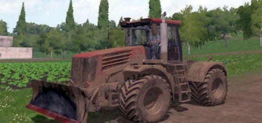 Мод трактор Кировец К 744 Р4 v1.0 Фарминг Симулятор 2017