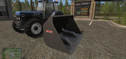 Мод ковш LARGE BUCKET V1.0.0.0 Farming Simulator 2017