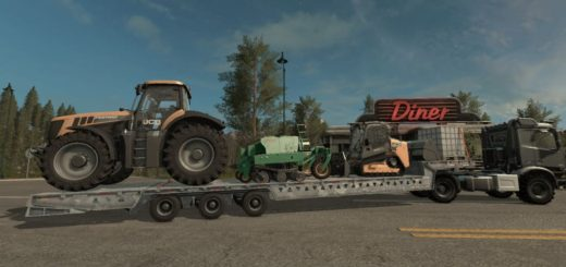Мод трал LOAD KING SPECIALIZED BT V1.0.0.0 Farming Simulator 17