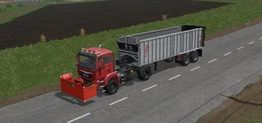 Мод тягач MAN TGX 18.640 v0.0.1.1 Farming Simulator 17