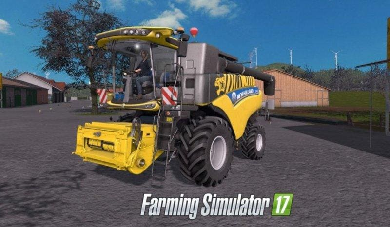 Мод комбайн NEW HOLLAND CR 6.90 V1.1 FS17