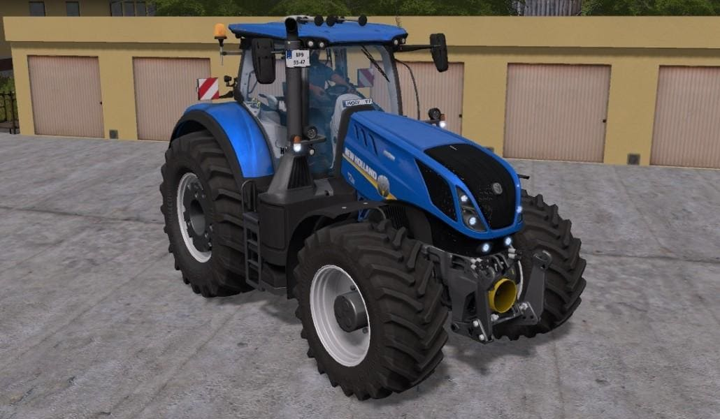 Мод трактор NEW HOLLAND T7 HD V1.2 Farming Simulator 17