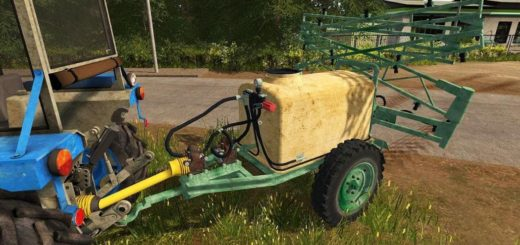 Мод опрыскиватель Sleza 1000 v1.0 Farming Simulator 17