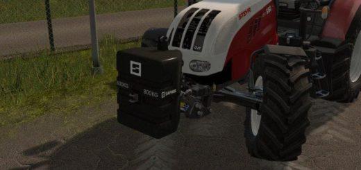 Мод противовес SAPHIR ST 800 V1.1 Farming Simulator 2017
