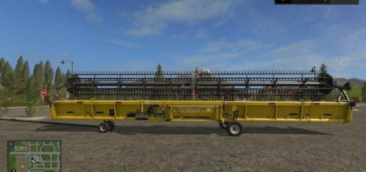 Мод жатка SUPERFLEX DRAPER 45FT V1.0 Farming Simulator 2017