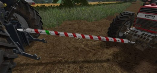 Мод жесткая сцепка TOW BAR V1.3.0.0 Farming Simulator 2017