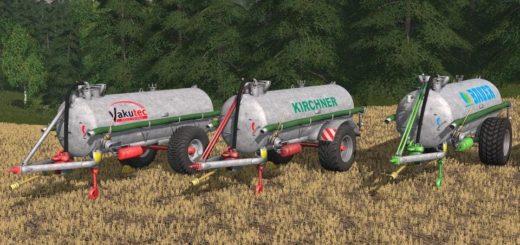 Мод прицеп VAKUTEC VA 10500 V1.0.0 Farming Simulator 2017