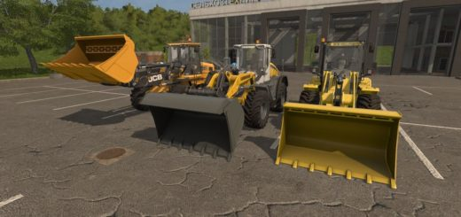Мод ковш WHEEL LOADER SHOVEL V1.0 Farming Simulator 2017