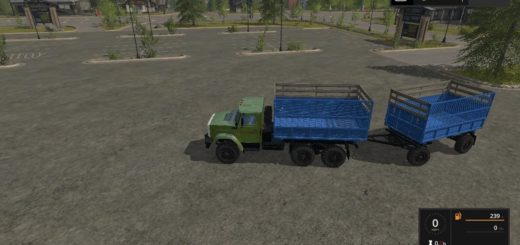 Мод ПАК грузовиков ЗиЛ 4334 v1.3 Фарминг Симулятор 2017