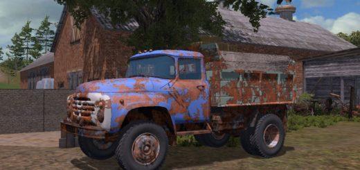 Мод грузовик ЗиЛ 4502 v5.6 Фермер Симулятор 17