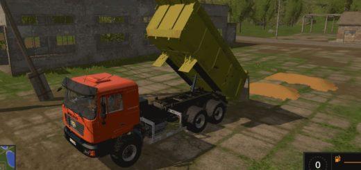 Мод грузовик SHACMAN 2000 v 0.2 beta Farming Simulator 17