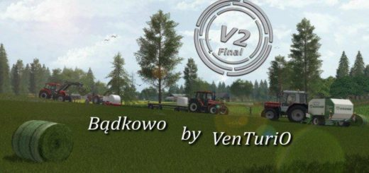 Мод карта BADKOWO MAP V2.0 FINAL Farming Simulator 2017