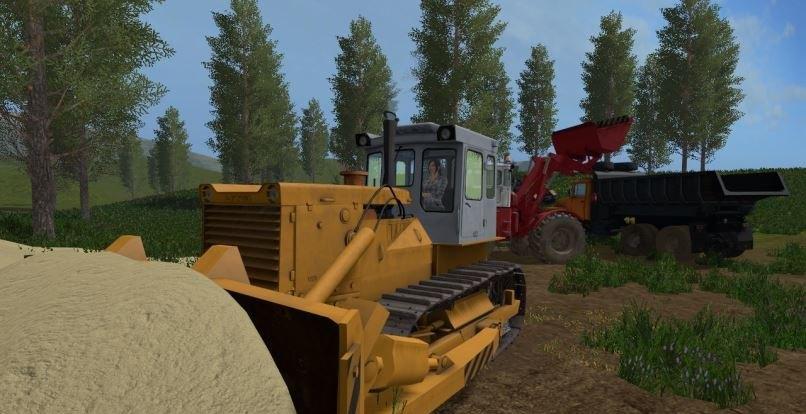 Мод трактор ЧТЗ Т-130 v1.1 Фермер Симулятор 2017