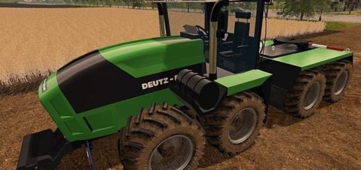 Мод трактор DEUTZ-FAHR AGRO XXL FINAL Farming Simulator 2017