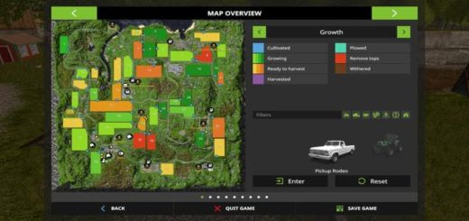 Мод карта MODIFIED BJORNHOLM V1.0.7 Farming Simulator 2017