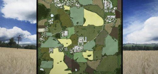 Мод карта PGR BRUZDA. v 2.0.1.9 Farming Simulator 17