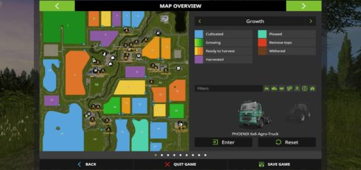 Мод карта Sherwood Park Farm V3.3 Farming Simulator 2017