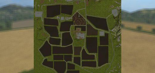 Мод карта TUSCAN LANDS V1.0.0.0 Farming Simulator 2017