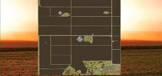 Мод карта WELKER FARMS V1.0 Farming Simulator 17
