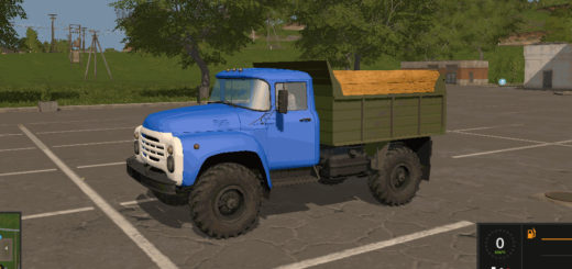 Мод грузовик ЗиЛ 4502 v5.8 Фермер Симулятор 2017