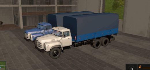 Мод грузовик ЗиЛ-133 ГЯ борт v1.2 Фермер Симулятор 2017