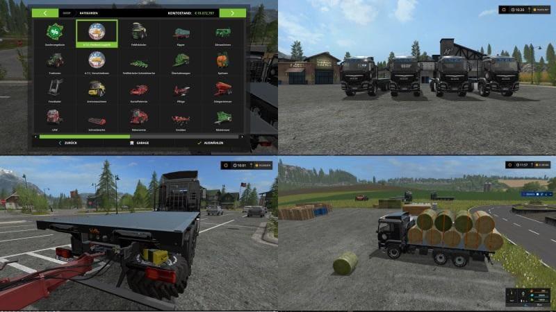 Мод ПАК ATC VEHICLE PACK V3.5.1.4 Farming Simulator 2017
