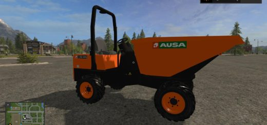 Мод самосвал AUSA D350 AHG V1.1 Farming Simulator 17
