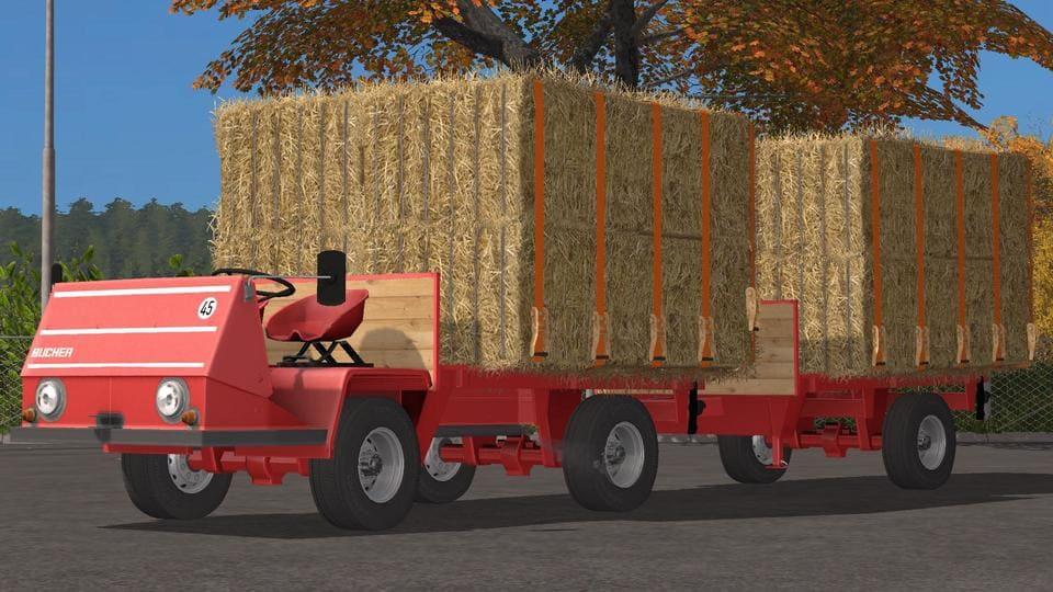 Мод ПАК BUCHER TRL2600 PLATFORM PACK V1.0.0.6 Farming Simulator 2017