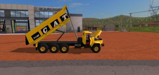 Мод грузовик CATERPILLAR 7140 V1.0 Farming Simulator 2017