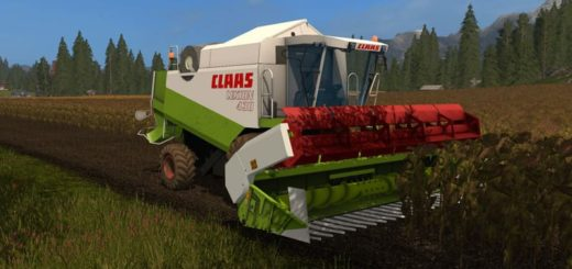 Мод комбайн CLAAS LEXION 430/460 PACK V1.0.0.0 Farming Simulator 17