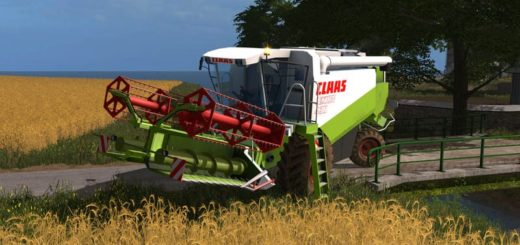 Мод комбайн CLAAS LEXION 430/460 PACK V1.1.0.0 Farming Simulator 17