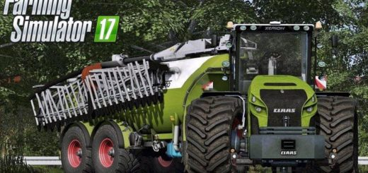 Мод ПАК CLAAS XERION/KAWECO FULL PACK V1.1 Farming Simulator 17