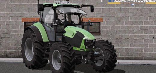 Мод трактор DEUTZ FAHR 5110 TTV V1.2.0 Farming Simulator 17