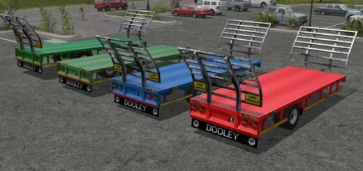 Мод прицеп DOOLEY UAL TRAILER V2.0 Farming Simulator 2017