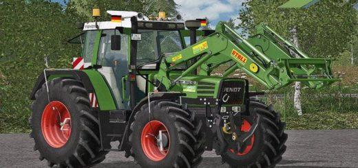 Мод трактор FENDT 500 FAVORIT C SERIES FINAL Farming Simulator 17