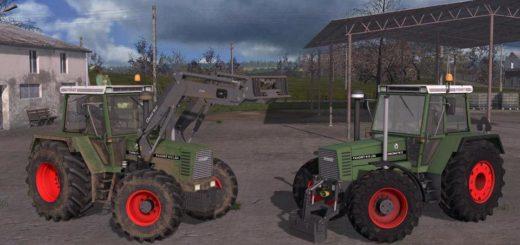 Мод трактор FENDT 600 FAVORIT V1.1 Farming Simulator 2017