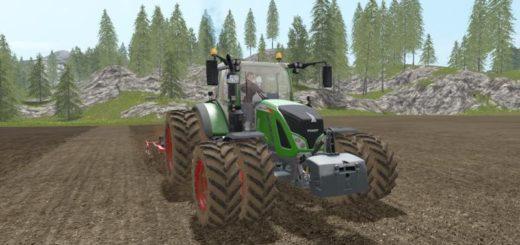 Мод трактор FENDT 700 VARIO V2.0 Farming Simulator 17