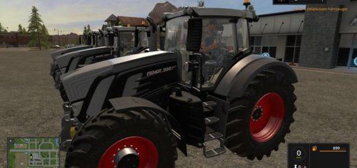 Мод трактор FENDT 900 BLACK V1.0.6.3 Farming Simulator 2017