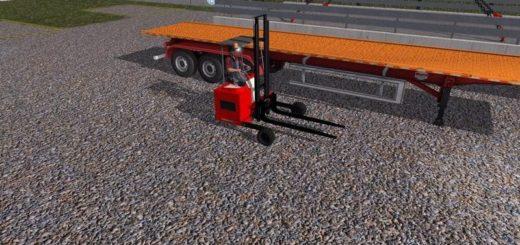 Мод погрузчик Forklift v2.4.7 Farming Simulator 2017