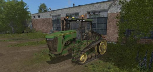 Мод трактор JOHN DEERE 9RT 2014 V2.1 Farming Simulator 17