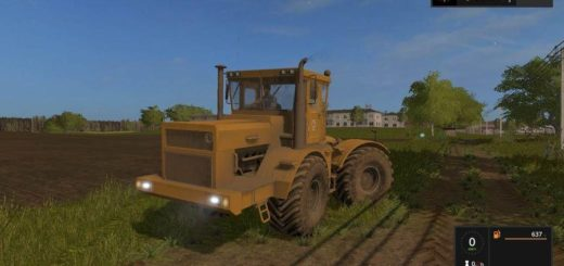 Мод трактор К 700 А v1.3.9 Фермер Симулятор 2017