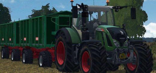 Мод прицеп KNIES KD 180 V1.0 Farming Simulator 17