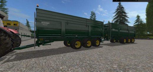 Мод прицеп KRAMPE BBS900 v1.0 Farming Simulator 2017